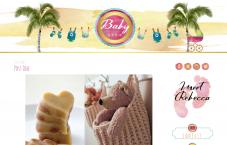 Portfolio custom blog design