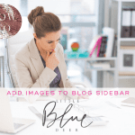 Custom Blog Design Tips – Add an Image to Sidebar