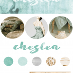 Blog Design Inspiration:  Seafoam Green