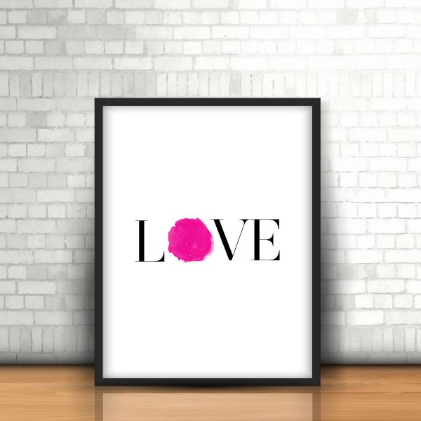 love solo framed
