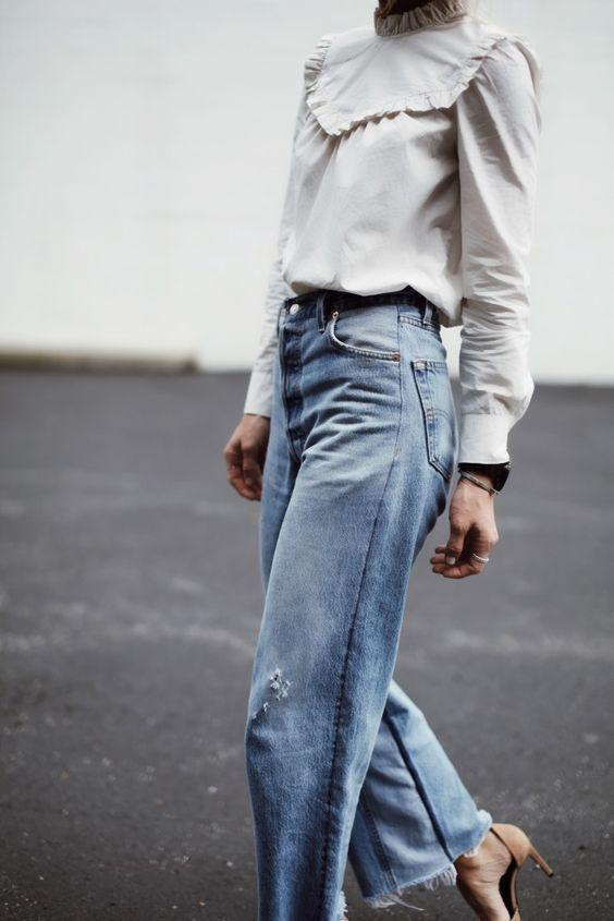 high waisted jeans from happily grey