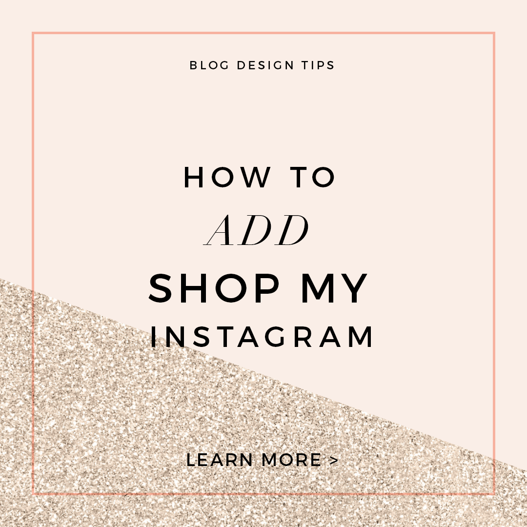 How to add shop my instagram to your blog little blue deer custom you have probable seen these shop this look widgets that fashion bloggers put in their blog posts or pages to share their ootd posts ccuart Images