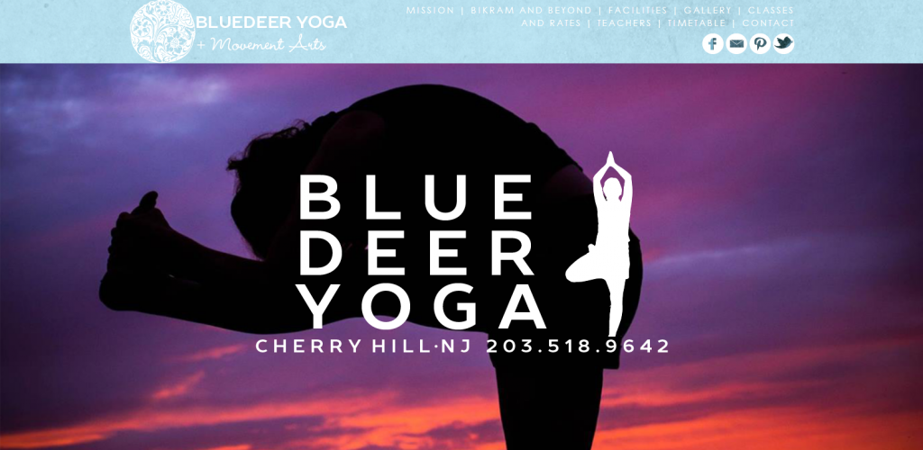 blue deer yoga