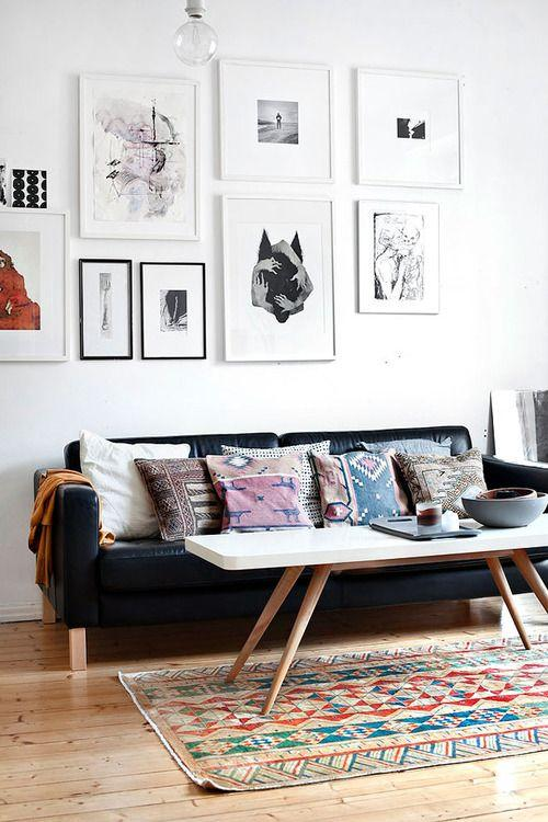 examples of beni ourain, kilim and navajo rugs