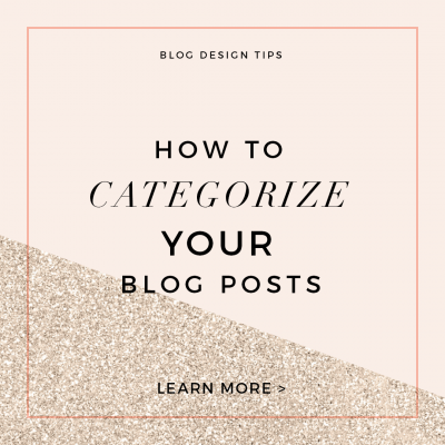 How to Categorize a WordPress Blog Post