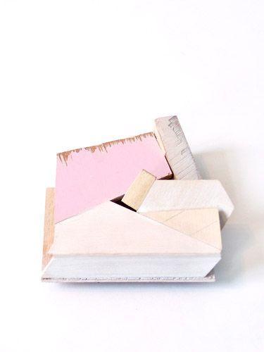 abstract pink box