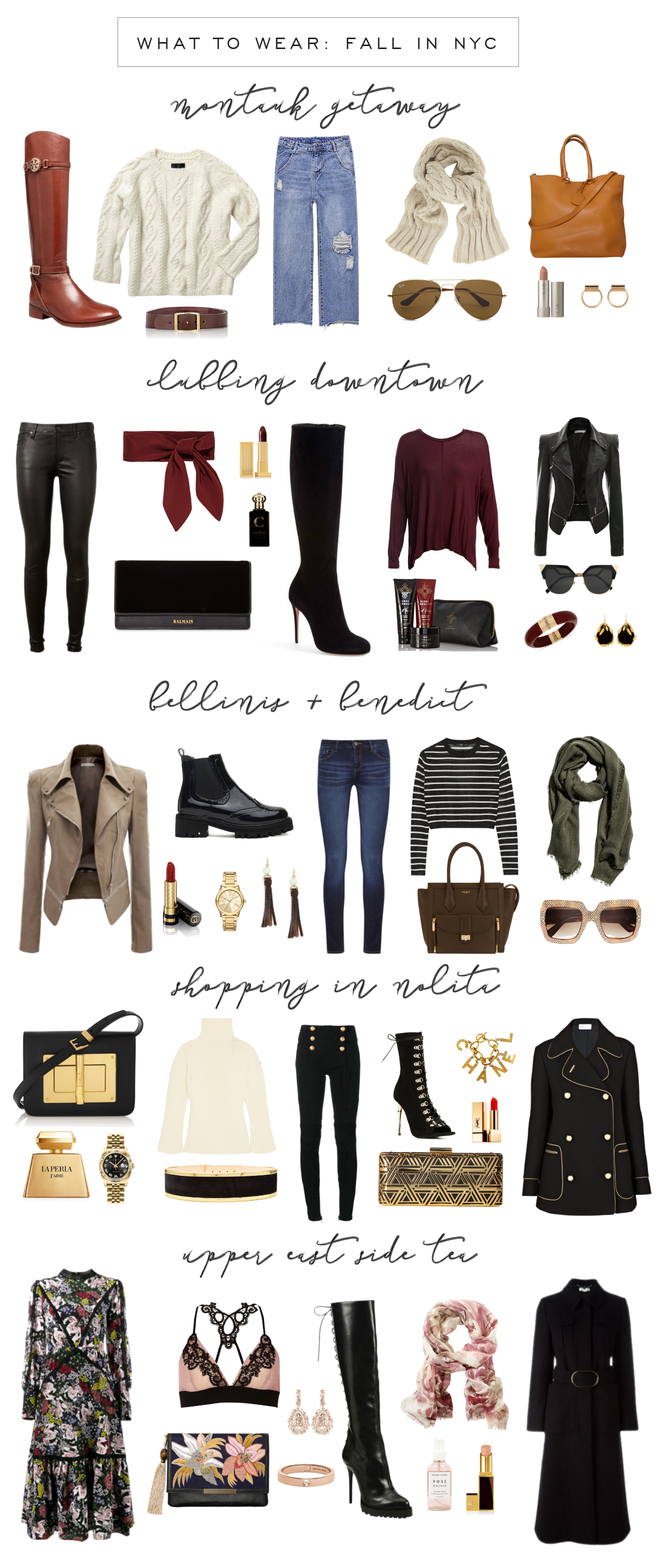 what to wear fall in nyc