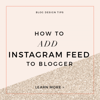 How to Add an Instagram Widget to Blogger Using Snapwidget
