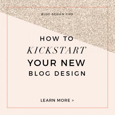 How To Kickstart Your New Custom Blog Design – Say Hi!