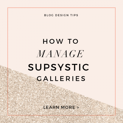 How to Manage Supsystic Galleries