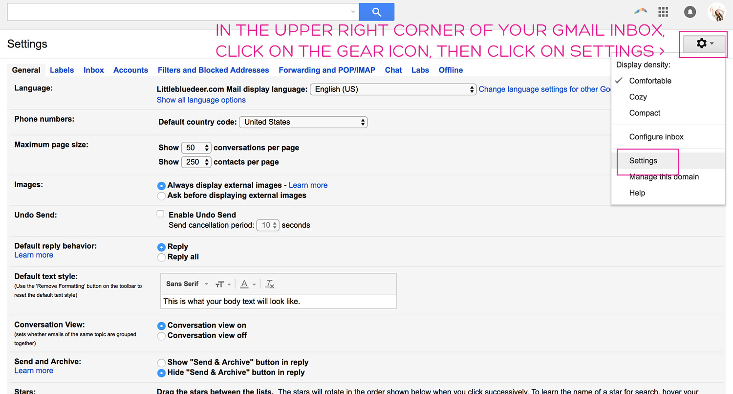 how to create signature in your gmail
