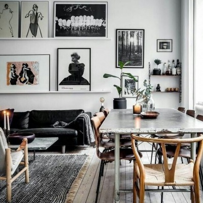Living + Dining