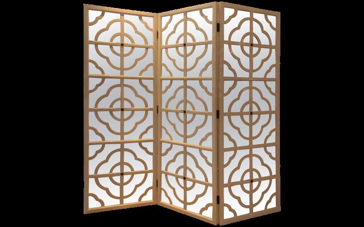 quatrefoil screen