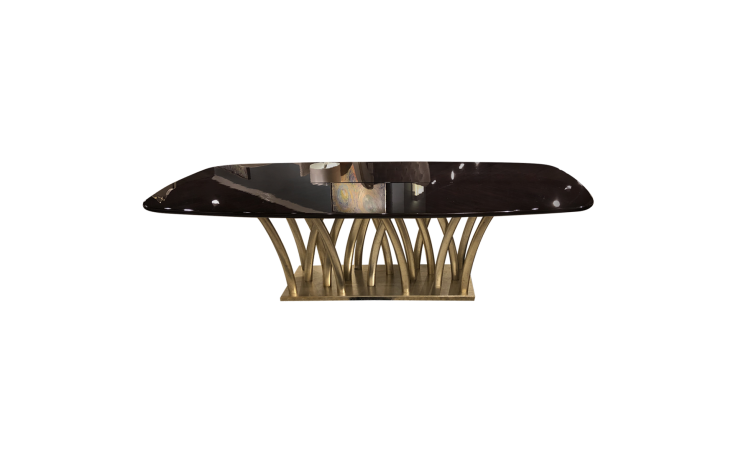 gold rainforest dining table