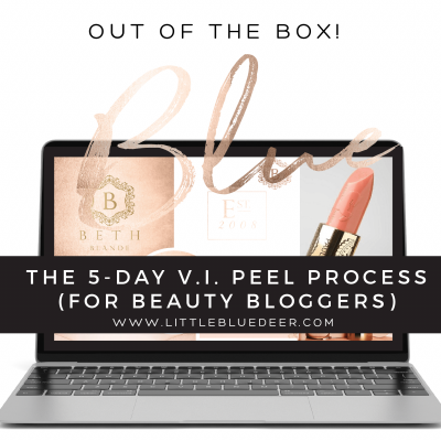 My 5 Day VI Peel Process