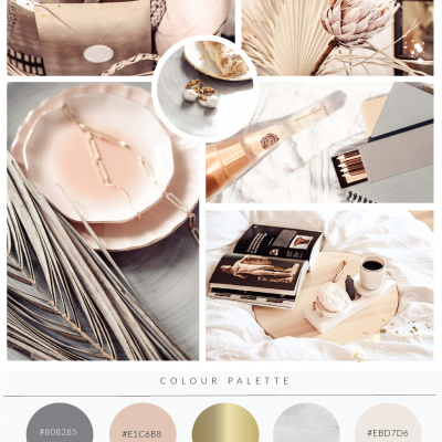 New! Elliana Luxe Premade Logo Kit