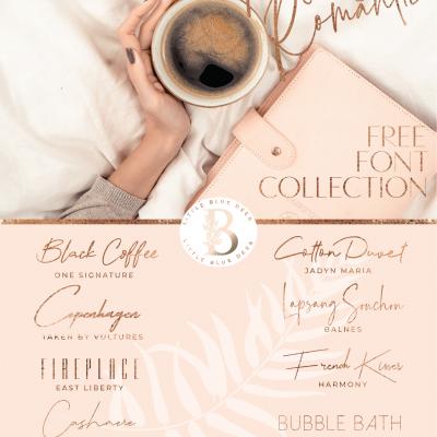 Moody & Romantic Free Font Download